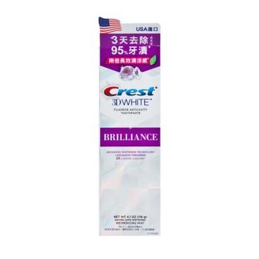 CREST - 3D閃亮白專業美白牙膏-薄荷味 - 116G
