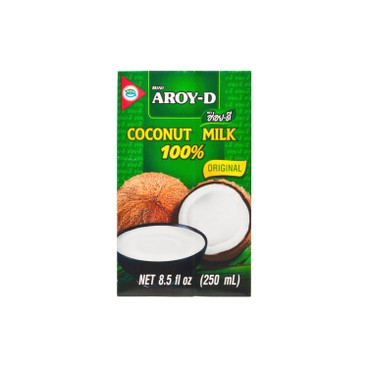 AROY-D - 100 Coconut Milk - 250ML