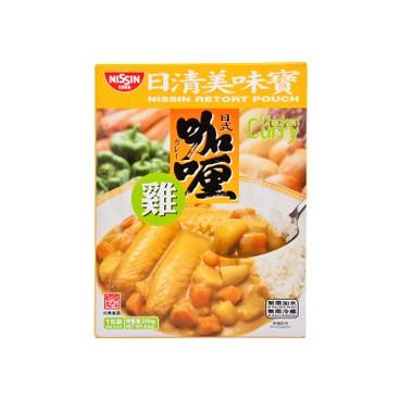 NISSIN - Retort Pouch Chicken Curry - 250G