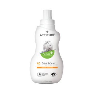 ATTITUDE - Fabric Softener 40 Loads Citrus Zest - 1L