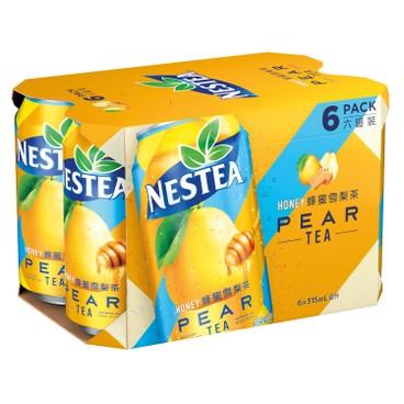 NESTEA 雀巢茶品 - 蜂蜜雪梨茶 - 315MLX6