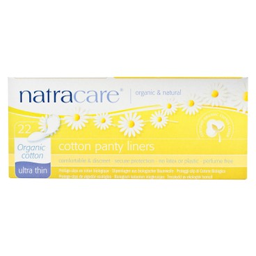 NATRACARE - Panty Liners ultra Thin 16 cm - 22'S