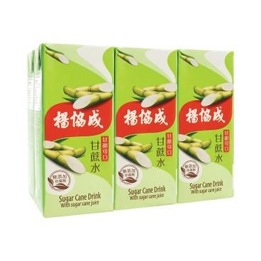 YEO'S - Sugar Cane - 250MLX6