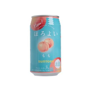 三得利 - 梳打酒-桃味 - 350ML