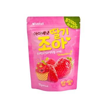貝貝 - 冷凍乾燥水果片-草莓 - 12g