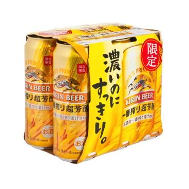 KIRIN - Ichiban Rich Taste - 500MLX6