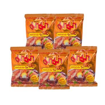MAMA - Instant Noodles shrimp Creamy Tom Yum Flavour - 55GX5