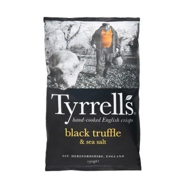 TYRRELLS - Potato Chips black Truffle And Sea Salt - 150G