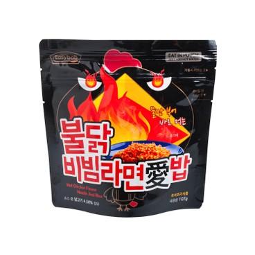 EASY拌 - 海鮮泡飯濃湯麵-火辣雞味 - 107G