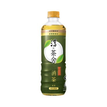 淳。茶舍 - 消茶無糖煎茶飲料(含膳食纖維) - 500ML