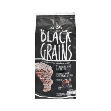 ALLRITE - 有機黑穀米餅-紫香米,黑米,亞麻籽,黑芝麻 - 80G