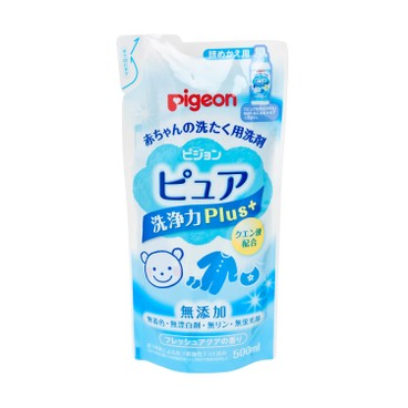 PIGEON - Baby Laundry Detergent Refill pure Plus - 500ML