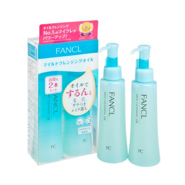 FANCL - Mild Cleansing Oil Twin Pack - 120MLX2