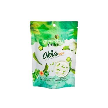 GREENDAY - Okra Chips sour Cream Onion Flavor - 14G