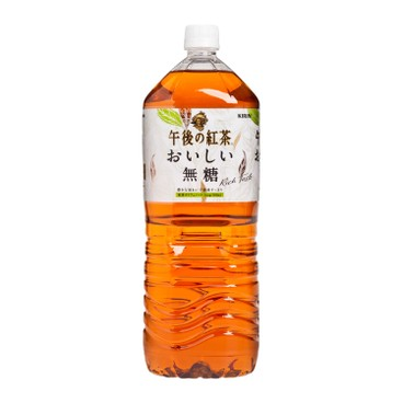KIRIN - Afternoon Tea Sugar Free Black Tea - 2L