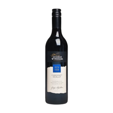 GEORGE WYNDHAM - Bin 888 Cab Merlot - 750ML
