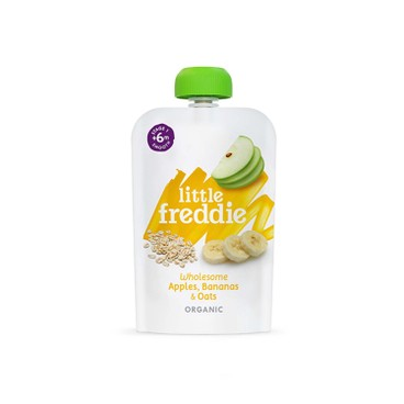 LITTLE FREDDIE - Organic Wholesome Apples Bananas Oats - 100G