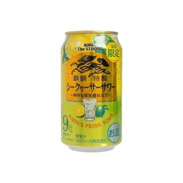 麒麟 - 特製梳打酒-柑橘(期間限定) - 350ML
