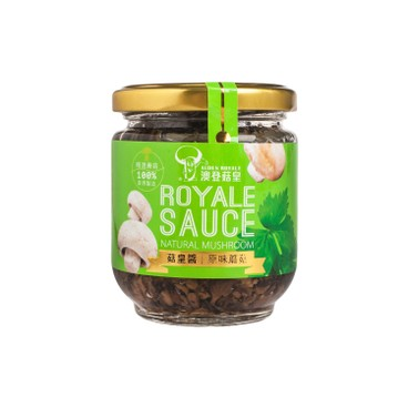 AUDEN ROYALE - Natural Mushroom Sauce - 180G