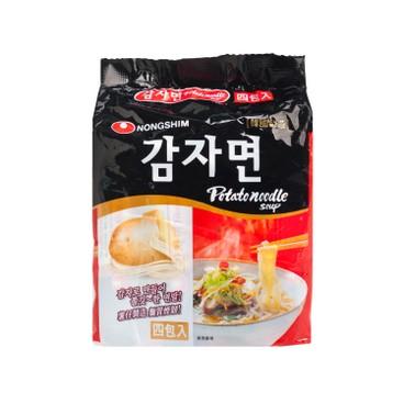 NONG SHIM - Potato Noodle - 100GX4