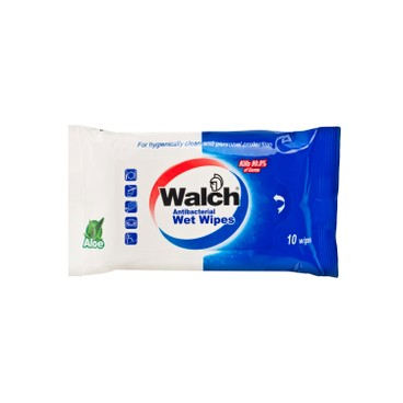 WALCH - Wet Wipes - 10'S