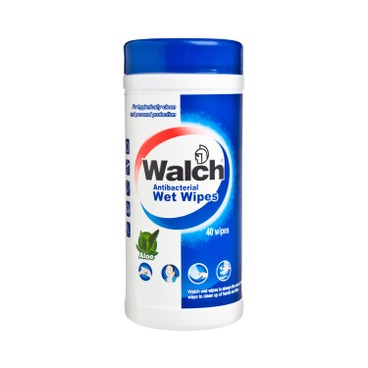 WALCH - Wet Wipes - 40'S