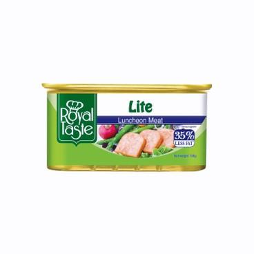 ROYAL TASTE - Luncheon Meat less Lite - 198G