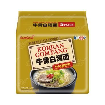 SAMYANG - Beef Bone White Soup Ramen - 110GX5