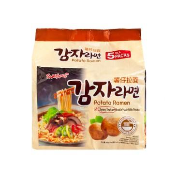 SAMYANG - Potato Soup Ramen - 120GX5