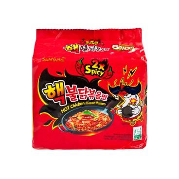 SAMYANG - Hot Chicken Extreme Flavor Stir Fried Ramen - 140GX5
