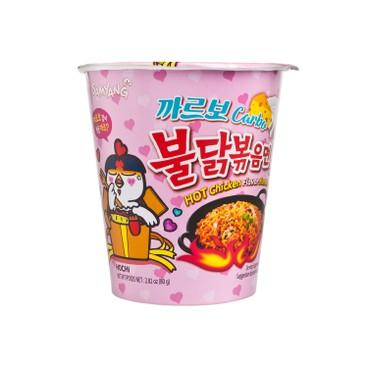 SAMYANG - Carbonara Spicy Chicken Stirred Ramen Bowl - 80G