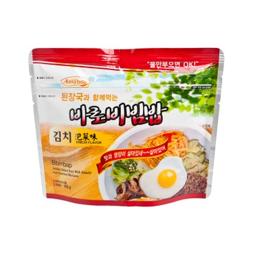 EASY拌 - 滋味即食拌飯- 泡菜味-附設韓式麵豉湯 - 140G