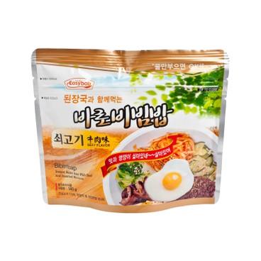 EASY拌 - 滋味即食拌飯- 牛肉味-附設韓式麵豉湯 - 140G