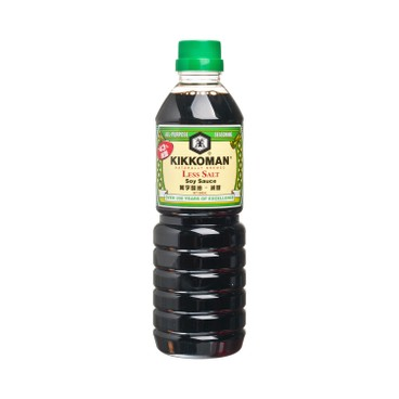 KIKKOMAN - Milder Soy Sauce - 600ML