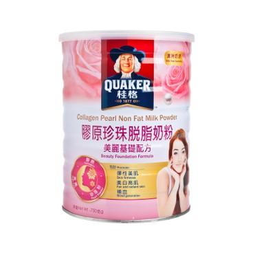 桂格 - 膠原珍珠脫脂奶粉 - 750G