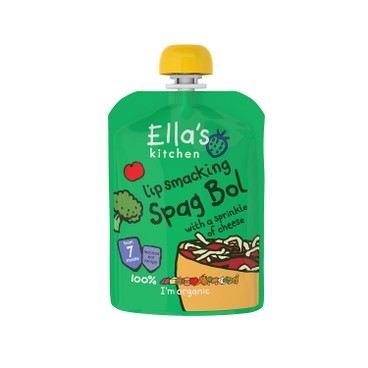 ELLA'S KITCHEN - Lip Smacking Spag Bol With Sprinkle Of Cheese - 130G