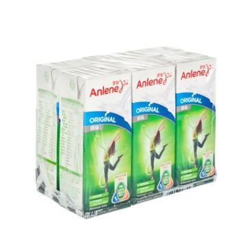 安怡 - 高鈣低脂牛奶-原味 - 6X180ML