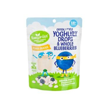 KIWIGARDEN - Greek Style Yoghurt Drops Whole Blueberries - 14G