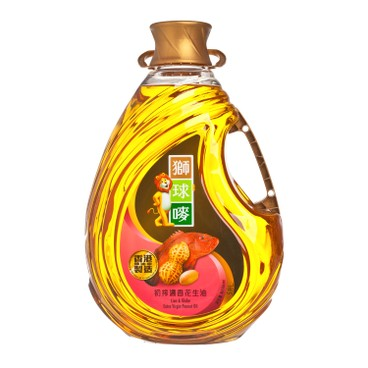 LION & GLOBE - Extra Virgin Peanut Oil - 5L