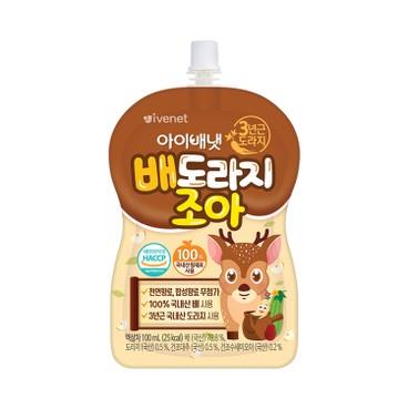 貝貝 - 梨子桔梗絲瓜汁 - 100ML