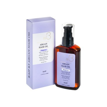 RAIP - R 3 Argan Hair Oil Elegance peach apple Blossom Flavor - 100ML