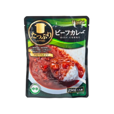 HACHI - PLENTY OF BEEF CURRY-MED HOT - 250G