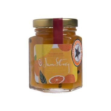 JAM STORY - Orange Mango Passion Fruit Yuzu Liqueur Marmalade - 100G