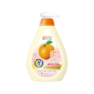 橘子工坊 - 奶瓶蔬果清潔劑-嬰兒適用配方 - 500ML