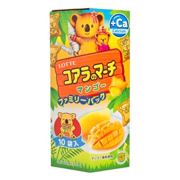 LOTTE - Koalas March mango Family Pack - 195G