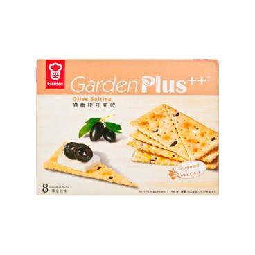 嘉頓 - 梳打餅乾-橄欖味 - 192G