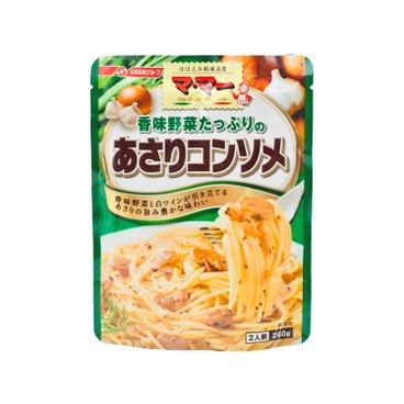 NISSIN - Vegetable Clam Consomme Pasta Sauce - 260G