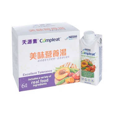 NESTLE - COMPLEAT® GIFT PACK (OLD and NEW PACKAGE RANDOM DELIVERY) - 250MLX6 (舊裝 237MLX6)