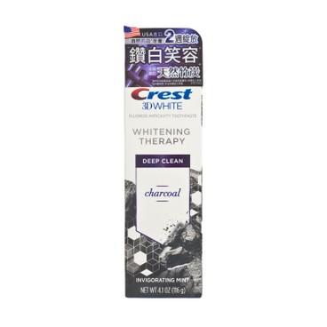 CREST - 天然美白牙膏-天然竹炭 - 116G