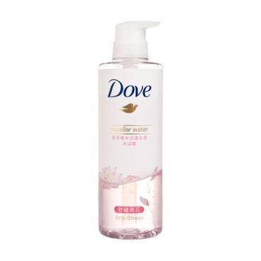 DOVE - Micellar Water Boby Wash soothing - 500ML
